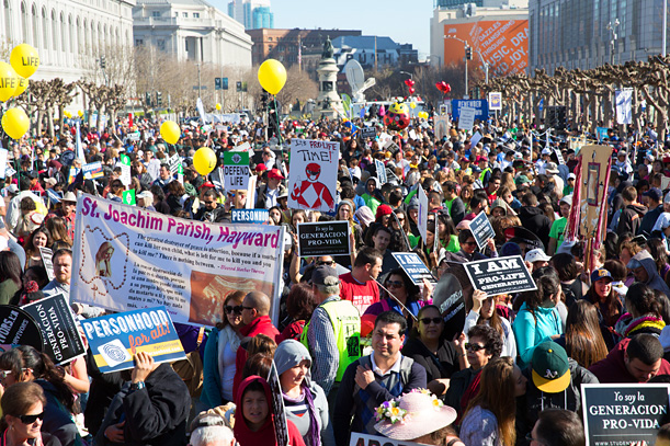 50,000 fill SF streets in Walk for Life