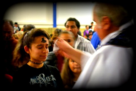 Ash Wednesday 2015 Photos